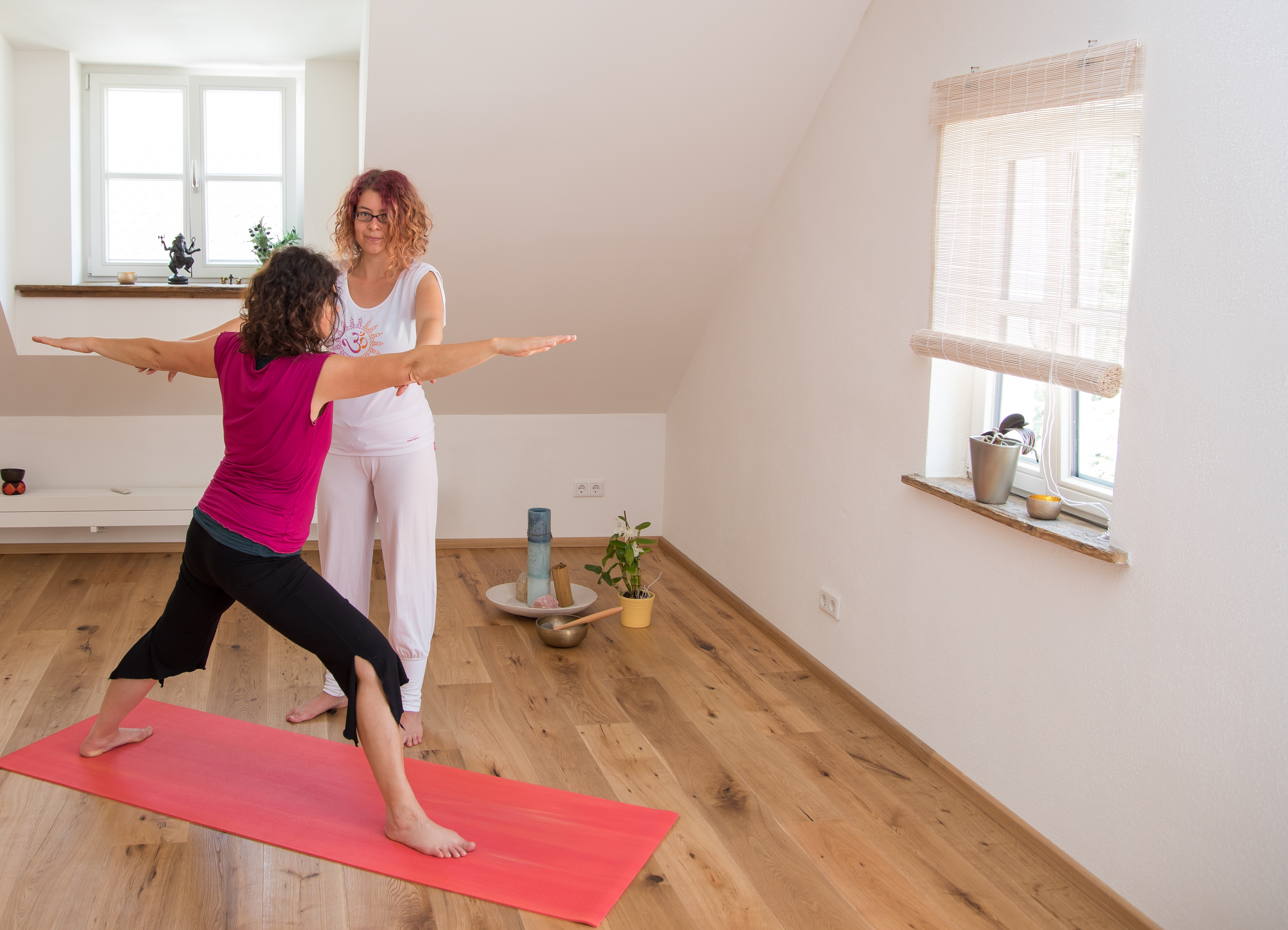 Yoga Individuell - In der Gruppe ab 19.09. 19 Uhr